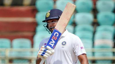 Ind vs SA: Rohit Sharma hit a half-century, showing his attitude!