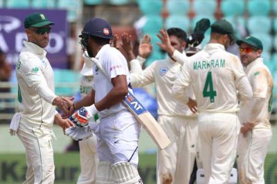 IND vs SA: second day's game over, Mayank Agarwal steals the show