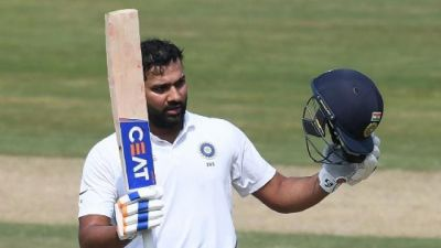 Rohit Sharma broke record of this opener by scoring a century in the second innings