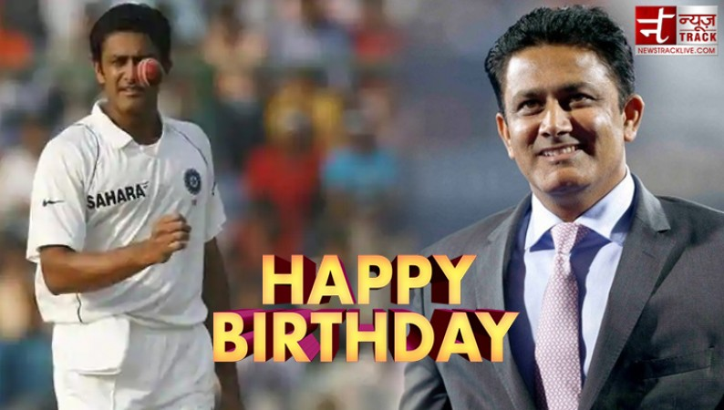 Find out why Anil Kumble is called 'Jumbo' | News Track Live, NewsTrack  English 1