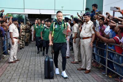 Ind vs Sa : तीसरे टेस्ट के लिए साउथ अफ्रीका की पूरी टीम पहुंची रांची, मगर...