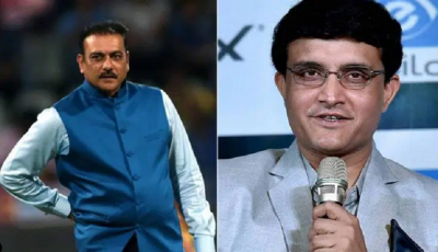 Saurabh Ganguly's big statement on Ravi Shastri, says