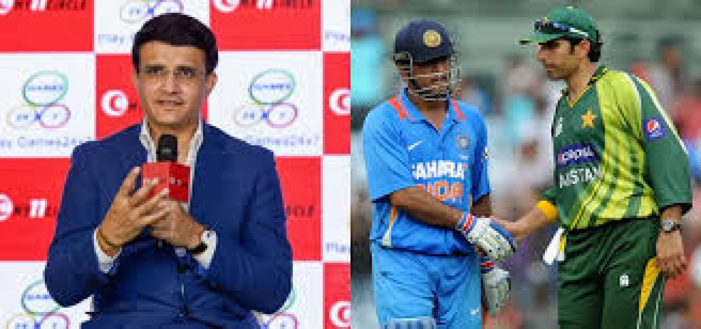 Sourav Ganguly said this about India-Pakistan cricket relations