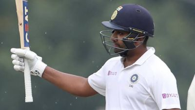 IND vs SA: Rohit hits magnificent century, India cross 200 runs