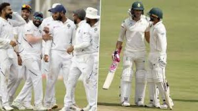 Ind vs SA: Second day's play over, South Africa lost two wickets for nine runs