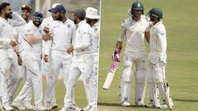 Ind vs Sa : दूसरे दिन का खेल खत्म, दक्षिण अफ्रीका ने नौ रन पर गंवाए दो विकेट