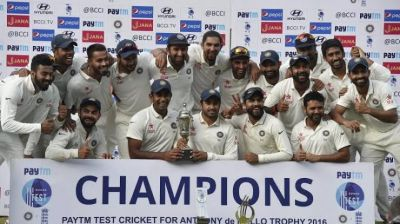 Indian team reached the top in ICC Test Championship points table
