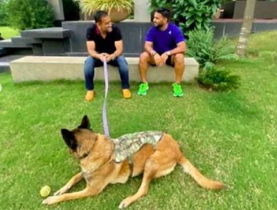 Rishabh Pant arrives at Dhoni's house to learn the tips and tricks of cricket, photo gets surfaced