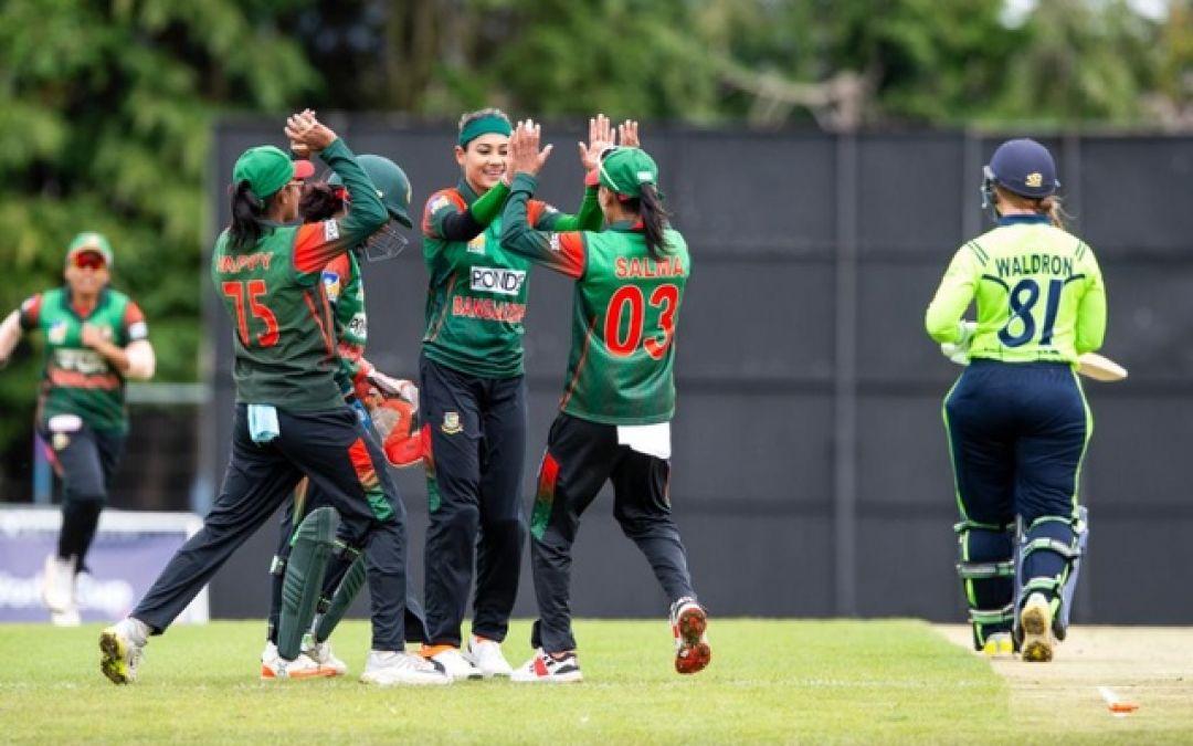 बांग्लादेश की महिला क्रिकेट टीम ने टी20 विश्वकप के लिए किया क्वालीफाई