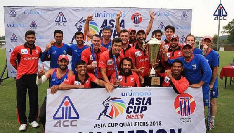 हांगकांग को मिला अंतर्राष्ट्रीय टीम का दर्जा, एशिया कप में भारत और पाक से होगी टक्कर