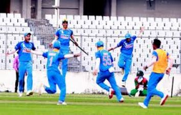 U19 ASIA CUP: India enters semi-finals, Pakistan out