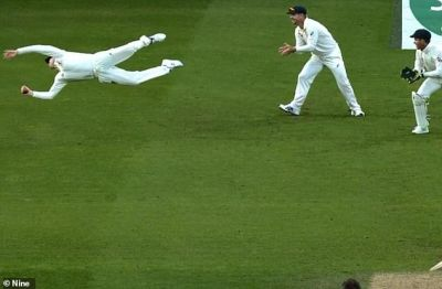 Ashes Series 2019: This player took a stunning one-handed catch