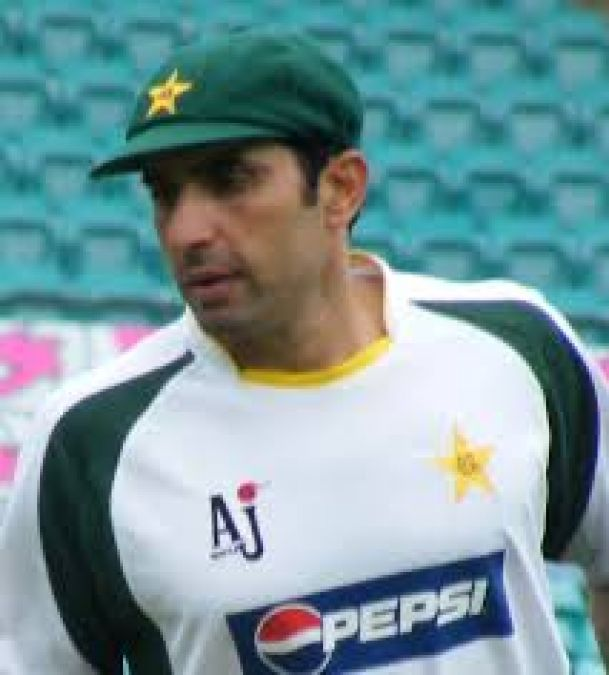 Pakistans newly appointed coach Misbah made a major change in the