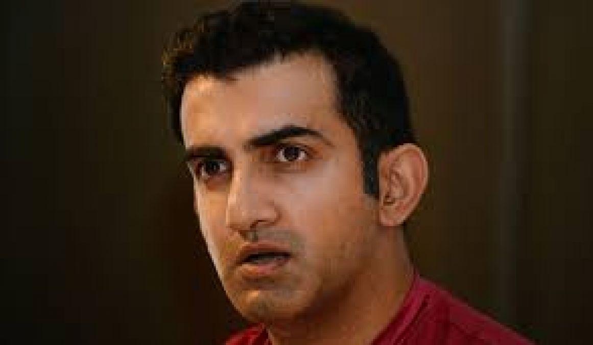 गौतम गंभीर ने इस खिलाड़ी की तुलना कुमार संगकारा और ब्रायन लारा से की