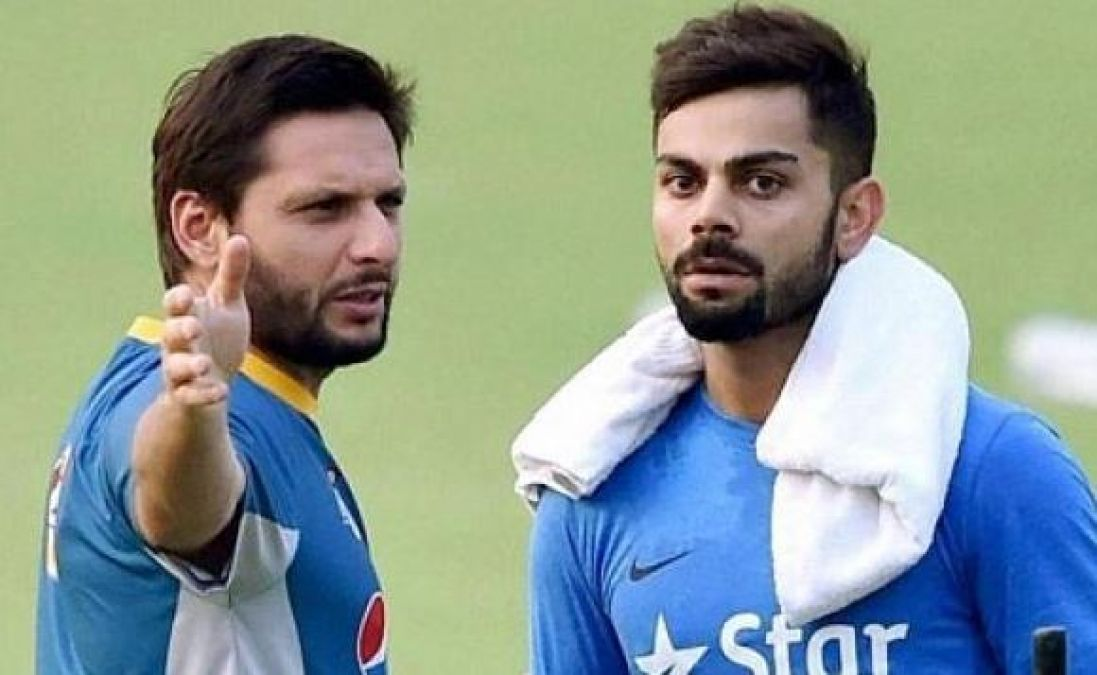 Shahid Afridi hails Virat Kohli, said 'You are a great player indeed'