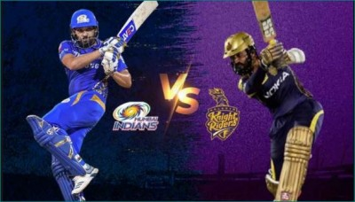 IPL 2020: KKR and MI will clash today, this may be playing XI for both teams