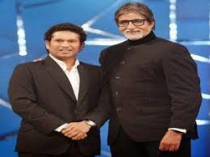 Sachin congratulates Big B for winning the Dadasaheb Phalke Award