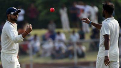 दलीप ट्रॉफी फाइनल: दूसरी पारी में लड़खड़ाने के बाद इंडिया रेड को मिली बढ़त