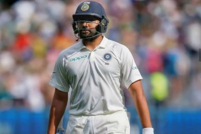 Rohit Sharma out on duck against South Africa