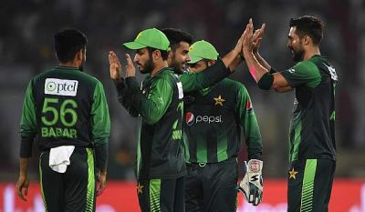 Pakistan win the T20Is series against West Indies
