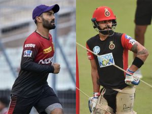 IPL 2018 Live:Royal Challengers Bangalore 52/1 after Powerplay overs