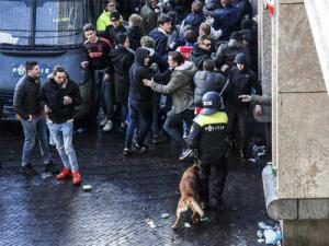 More than 140 fans arrested ahead match between Ajax and Juventus in Amsterdam