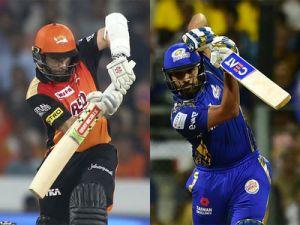 IPL 2018 Live SRH vs MI:After six overs MI ..
