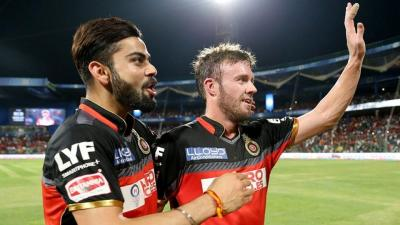 Virat Kohli and AB de Villiers become most prolific pair in IPL history
