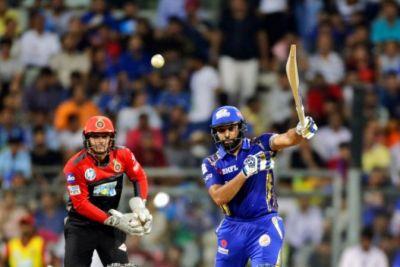 IPL 2018 Live Mi VS RCB: Rohit Sharma powers Mumbai Indians to 213/6