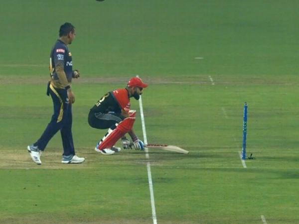 Watch Video: Virat Kohli pretends to avoid Mankad by Narine in a hilarious way