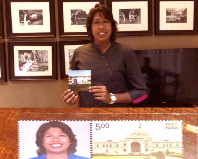 Jhulan Goswami to honor with postage stamp, See Pics