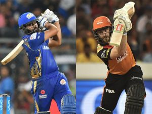 IPL 2018 Live  SRH vs MI : SRH bag early wickets of MI, After 6 overs MI need ..