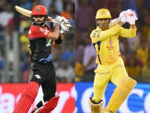 IPL 2018 Live CSK vs RCB : Virat gone,  AB de Villiers rock after 6 overs RCB ..