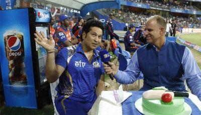 IPL 2018: Watch, Crowd sings 'Happy Birthday' to Sachin