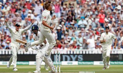 India vs England test series :India lead by 22 runs, Kohli smashed crucial 149