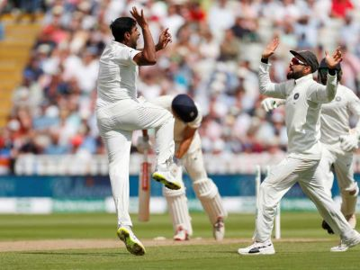 India Vs England test series: Indian bowler roars at the Day 1, Aswin bags four wickets
