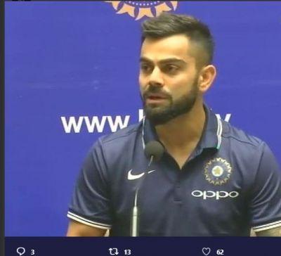 """Not very proud"" of the way team India performed: Virat Kohli"