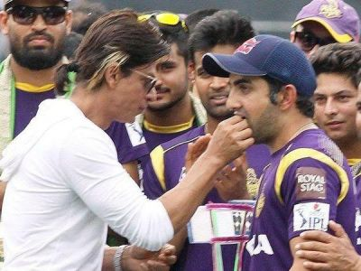 On Gautam Gambhir's retirement, KKR co-owner Shah Rukh Khan suggests his caption to smile more