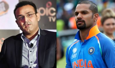 Virender Sehwag wrongly wished to 'Gabbar'?