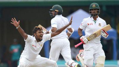 Sri Lanka fight back after Bangladesh's domination on Day 1