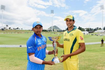 ICC World Cup under-19 Final Live:India needs 217 runs to chase the world cup title