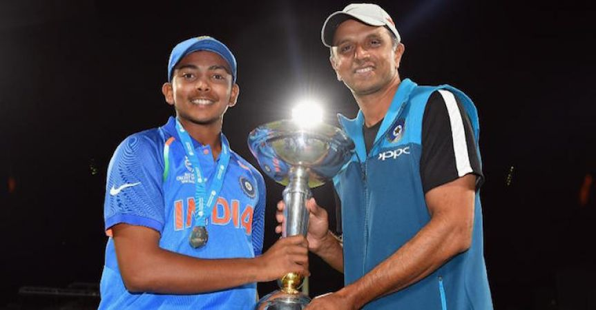Rahul Dravid reacts over inequality in Prize money: ICC U-19 World Cup