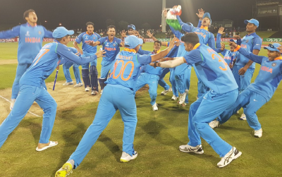 Lok Sabha congrats India U-19 WC winning team