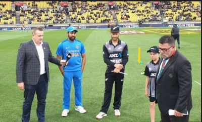 India vs New Zealand 1st T20: India won the toss and opt to bowl first