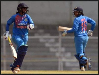 1st ODI women's cricket: India defeated match by 23 run