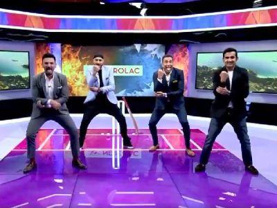 Watch Video:Gautam Gambhir, Harbhajan Singh, VVS Laxman tapper feet on Haka dance