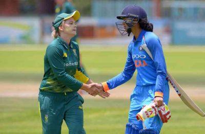 South Africa women's beats Indian women's by 7 wickets
