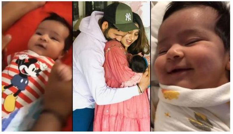 Rohit Sharma shares her cute adorable baby photo and video with beautiful caption…have a look