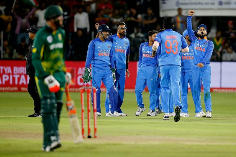 HISTORY created!  Men in Blue win first bilateral ODI series in SA