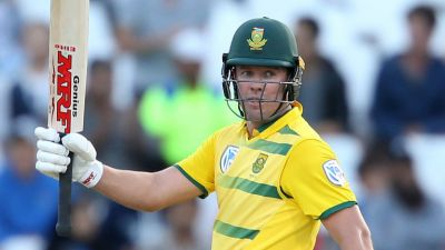 AB de Villers on an injured-list ruled out of T20Is against India